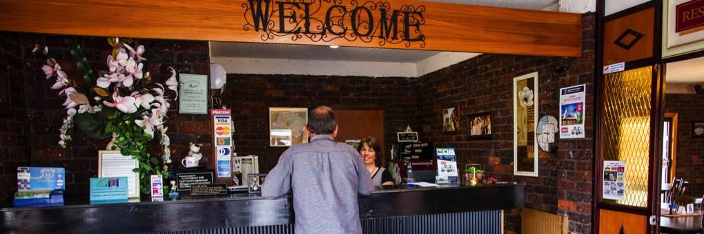 Baronga Motor Inn Colac Motel Reception