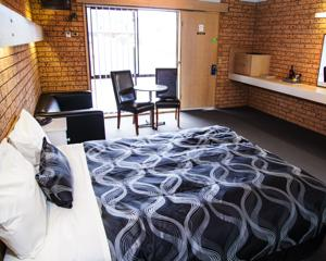 Baronga Motor Inn Colac Motel room